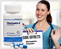 Phentramin-d – Reported Side Effects